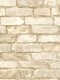 Wall Paper Oxford White Brick Texture pattern MAN20098. Keywords describing this pattern are bricks, brickwall, faux brick, texture look, textured look. Colors in this pattern are Tan. Alternate color patterns are MAN20097;Page:118. Coordinating patterns are MAN01881B;Page:126;MAN102411;Page:128;MAN95652;Page:130. Product Details: Material is Paper. Product Information: Book name: Gentlemens Quarters Pattern name: Oxford White Brick Texture Pattern #: MAN20098 Repeat Length: 21 0 inches....