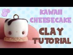 Kawaii Cheesecake Charm Polymer Clay Tutorial