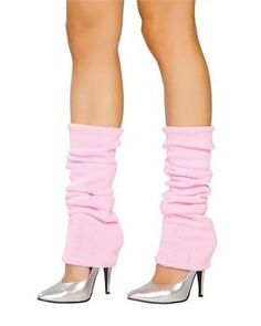 Baby Pink Leg Warmers