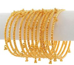 Gold Jewellery Designs Bangles | Gold and Diamond jewellery designs: Indian Bridal Bangles