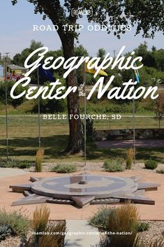 In driving through Belle Fourche, South Dakota, we encountered a large sign announcing a monument for the geographic center of the nation. We had to stop. Barbed Wire Fencing, Current Location, Back Road, South Dakota, Things That Bounce, Road Trip, National Parks, In This Moment, Sign