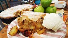 Torta integral de manzanas verdes