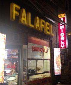 Falafel Imbiss in Hamburg am Millerntor