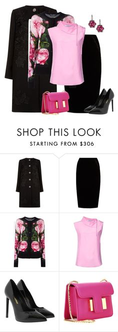 """""""outfit 5686"""" by natalyag ❤ liked on Polyvore featuring Dolce&Gabbana, Jupe By Jackie, Tome, Yves Saint Laurent, Tom Ford and Bayco"""