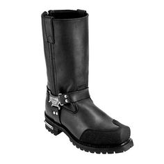 Milwaukee Boots - Milwaukee Drag Harness Motorcycle Boots