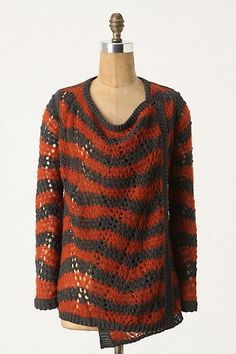 Loose Stripes Cardigan by Guinevere