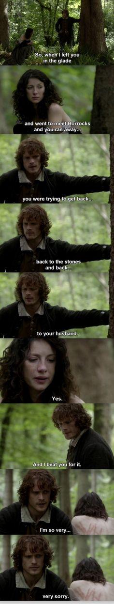 Outlander - S01E11 - Jamie & Claire