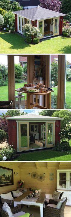 Ein Gartenhaus Mit Weitem Ausblick: Sunshine 40 Wird Aufgebaut