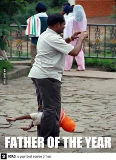 9GAG - Father of the year!