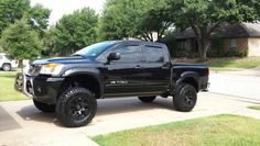Lifted Nissan Titan