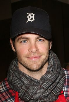 Chris Pine. Or Chris You Fine. Oooh I am punny