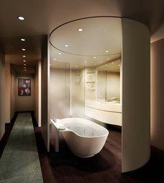 futuristic bathroom ideas