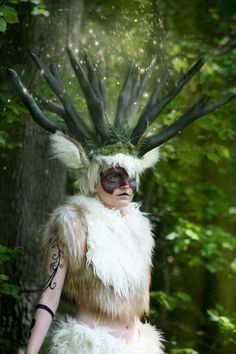 10 Best Cosplay Spirit Of The Forest Images Forest Spirit