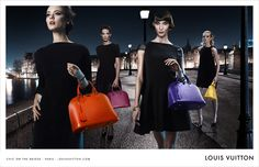Chic on the Bridge: discover the chic à la française from #Paris to #NewYork to #Shanghai with Louis Vuitton