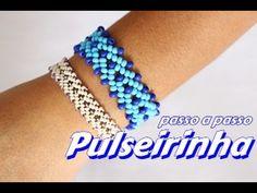 Herringbone Beaded Bracelet .How to make beaded bracelet DIY Bracelet - YouTube