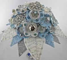 most talented people at Jamball Creations - felt flower bridal bouquets