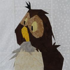 Owl from Hundred Acre Wood- I HAVE to make this! I so love the original Pooh illustrations.... :-)