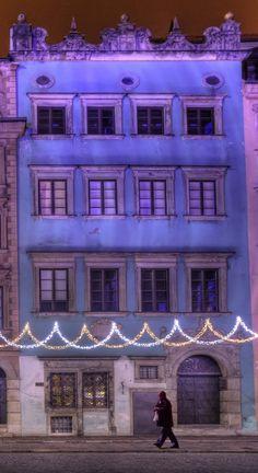 Warsaw Christmas, Old Town Market Square, Warsaw, Poland