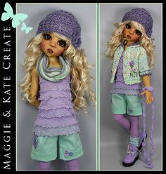 Mint-Lavender-Outfit-for-Kaye-Wiggs-18-MSD-BJD-by-Maggie-Kate-Create