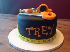 Tool birthday cake for a four year old!