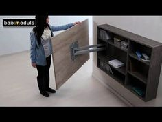 MUEBLE TELEVISION GIRATORIO 08 - YouTube