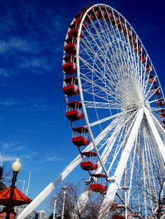 The Navy Pier. Chicago.