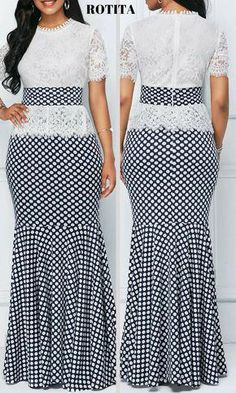 From parties and formal dinners to work events and casual summer afternoons,our women's dress selection features something fllatering for every occasion. Latest African Fashion Dresses, African Print Fashion, African Attire, African Dress, Skirt Fashion, Fashion Outfits, Womens Fashion, African Traditional Dresses, Classy Dress