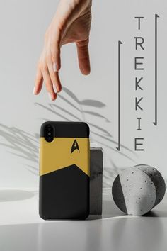 This unique Star Trek uniform, cell phone case is the perfect choice for anyone looking for unique gift for a Trekkie. The elegant and sleek design is based on the Star Trek Original Series uniform and will let you flaunt your love of Star Trek with style. We offer a range of iPhone cases and Samsung Galaxy Cases, with other brands and models on request. This really is the perfect Trekkie birthday gift, or simply a great buy for yourself... If you need good protection for your phone, this toug