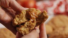 Caramel Stuffed Cookies   - Delish.com