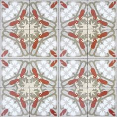 Art deco's lavish ornamentation and bold geometrics convey the visual arts movement which combined craft motifs with machine-age symmetry. Tile Wallpaper, Graphic Wallpaper, Retro Wallpaper, Wallpaper Roll, Art Deco Tiles, Tile Art, Retro Home Decor, Art Deco Design, Designer Wallpaper