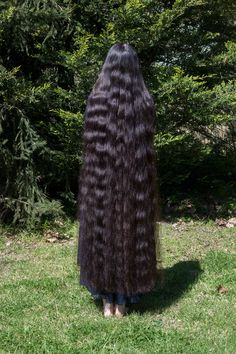 very long hair Long Curly Hair, Curly Hair Styles, Natural Hair Styles, Beautiful Long Hair, Gorgeous Hair, Super Long Hair, Permed Hairstyles, Dream Hair, Her Hair