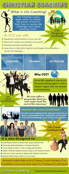 Visit this site http://centerforchristiancoaching.com for more information on Christian Coaching. Christians can be the most skeptical and cautious people. They trust God for their every need. The fact is, they are human with needs, wants, hurts, frustration and all other problems known to man. Therefore make sure you opt for the best Christian coaching and turn into an experienced teacher. Follow Us: https://storify.com/topcoachlife