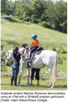 With Horses and iPads, Children with Autism Learn to Communicate - Pinned by @PediaStaff – Please Visit  ht.ly/63sNt for all our pediatric therapy pins