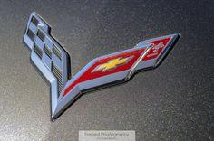 C7 Corvette Logo - Forged Photography | Dedication to Automotive Art