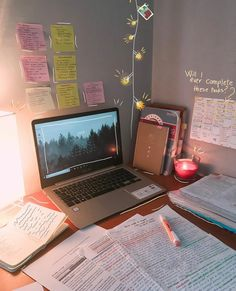 It is still exam season for me, one week from now I will be done with my exa… - Studying Motivation Study Room Decor, Study Organization, Study Space, Study Desk, Study Areas, Work Desk, School Study Tips, Study Hard, Studyblr