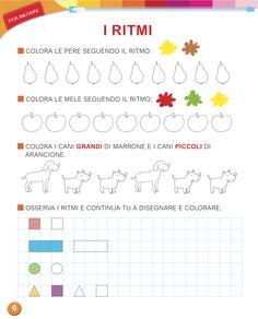 Matita e gomma 1 - Matematica Pre Writing, Classroom Activities, Pixel Art, Montessori, Bullet Journal, Coding, Teaching, School, Anna