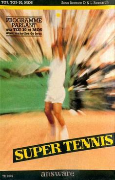 Super Tennis sur Thomson MO5
