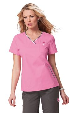 The koi Ashley top is part of the koi Scrubs range.This is a super stylish scrub top for those looking for nurses uniforms, medical scrubs, pharmacy … Sandro, Stylish Scrubs, Koi Scrubs, Medical Scrubs, Scrub Tops, Sport Fashion, V Neck, Fabric, Cotton