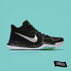 detailed look 89b5c fa66b Nike Kyrie III - Black Ice AED 599