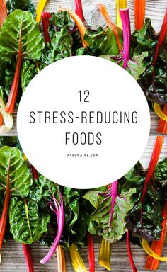 Stressed? You need to eat more greens.
