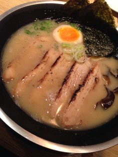 Aburi char siew ramen from Niigata an awesome bowl of noodles to warm the soul
