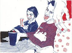 hope gangloff | Hope Gangloff Drawings - Serial Optimist