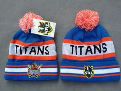 TITANS Beanies Hats NRL Knit Hats|only US$8.90