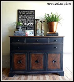 Fabulous Brickwede Buffet Makeover by Lisa @ {create inspire} – Rustic Brands