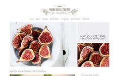Food Blog - #Wordpress #theme with the ultimate blogger style theme for starting a cooking #blog, food blog, or any other #lifestyle blog.