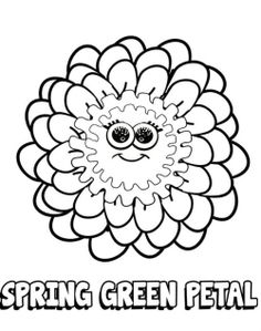 girl scout coloring pages daisy