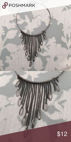 🎉HOST PICK🎉: Choker statement necklace 🎉🎉Host Pick for Jewelry Posh Party🎉🎉 awesome choker statement necklace piece. Jewelry Necklaces