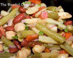 Granny's 4 Bean Salad.... https://grannysfavorites.wordpress.com/2015/09/09/grannys-4-bean-salad/