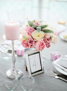 Mariage rose centre de table  Etincelles events wedding planner paris mariage