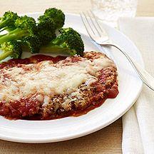 I love this weight watchers chicken parmigiana recipe